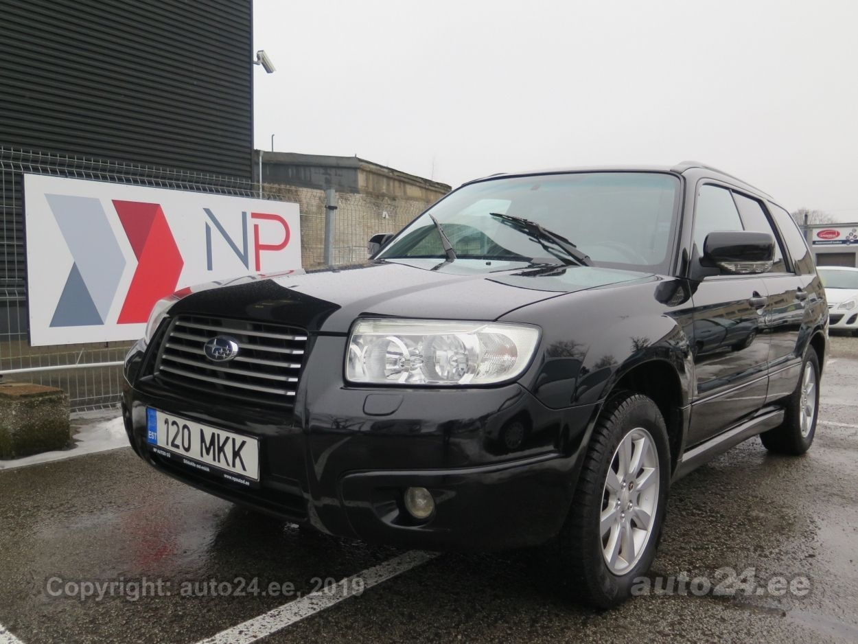 Subaru Forester 4X4 2.0  116 kW