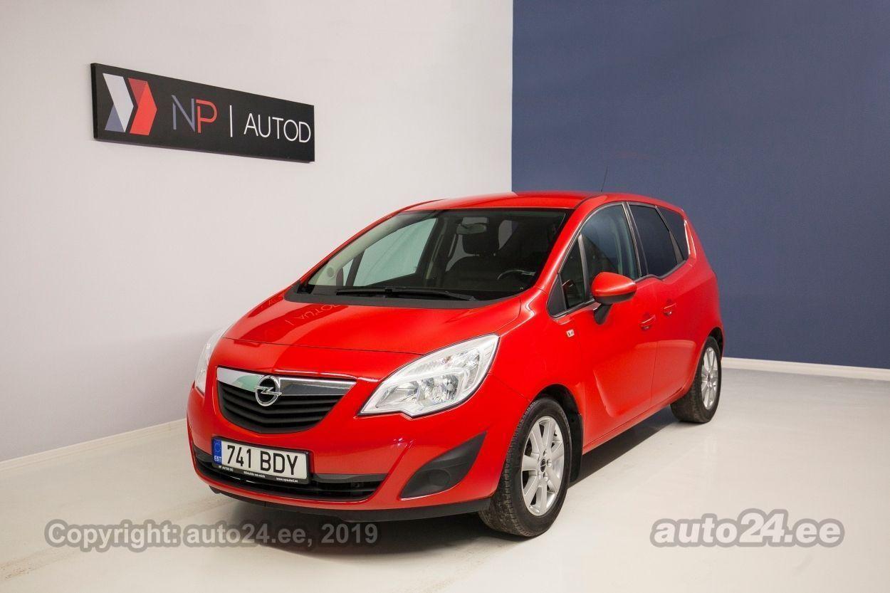 Opel Meriva Turbo 1.4  103 kW