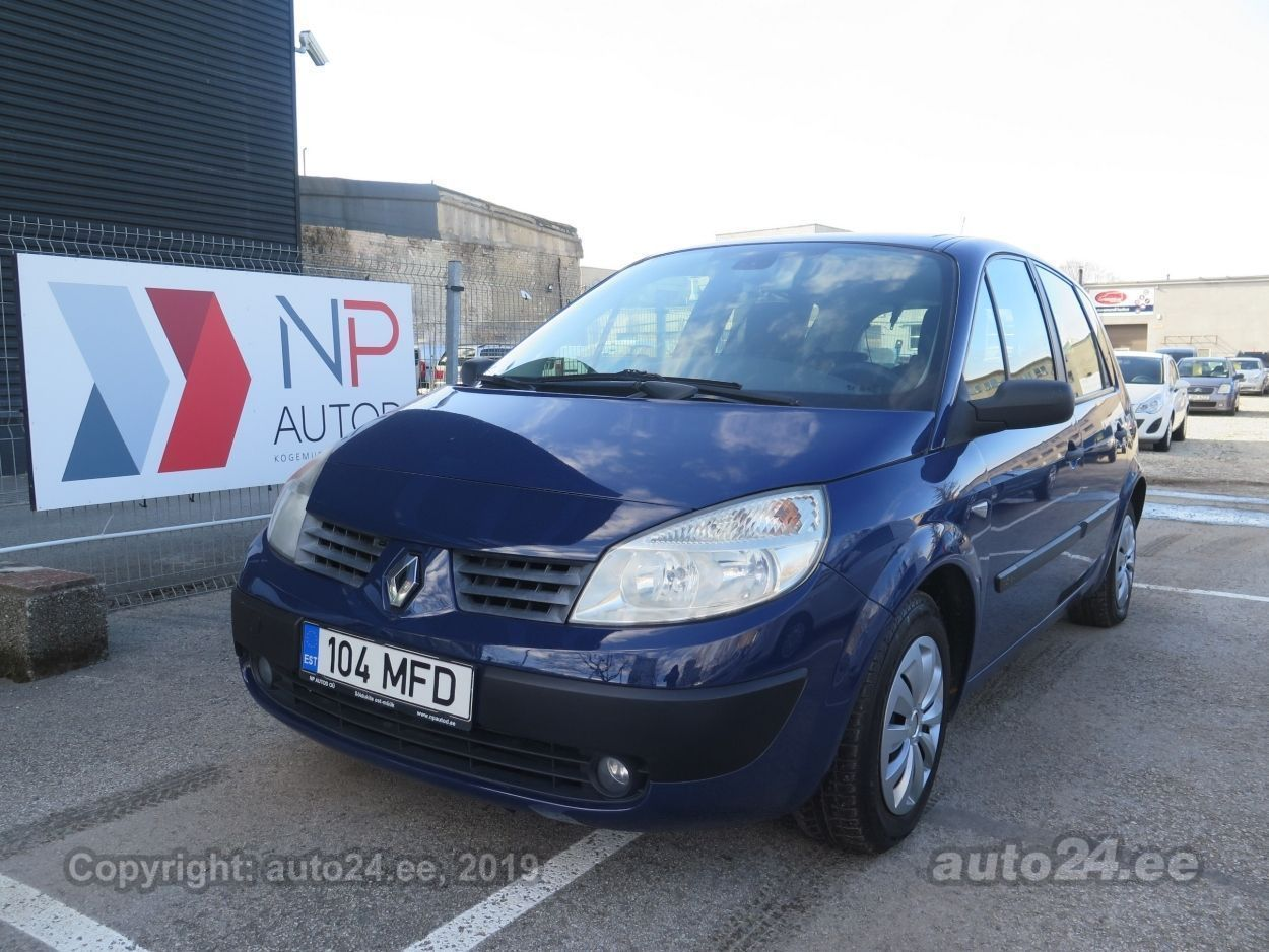 Renault Scenic 16V 1.6  83 kW