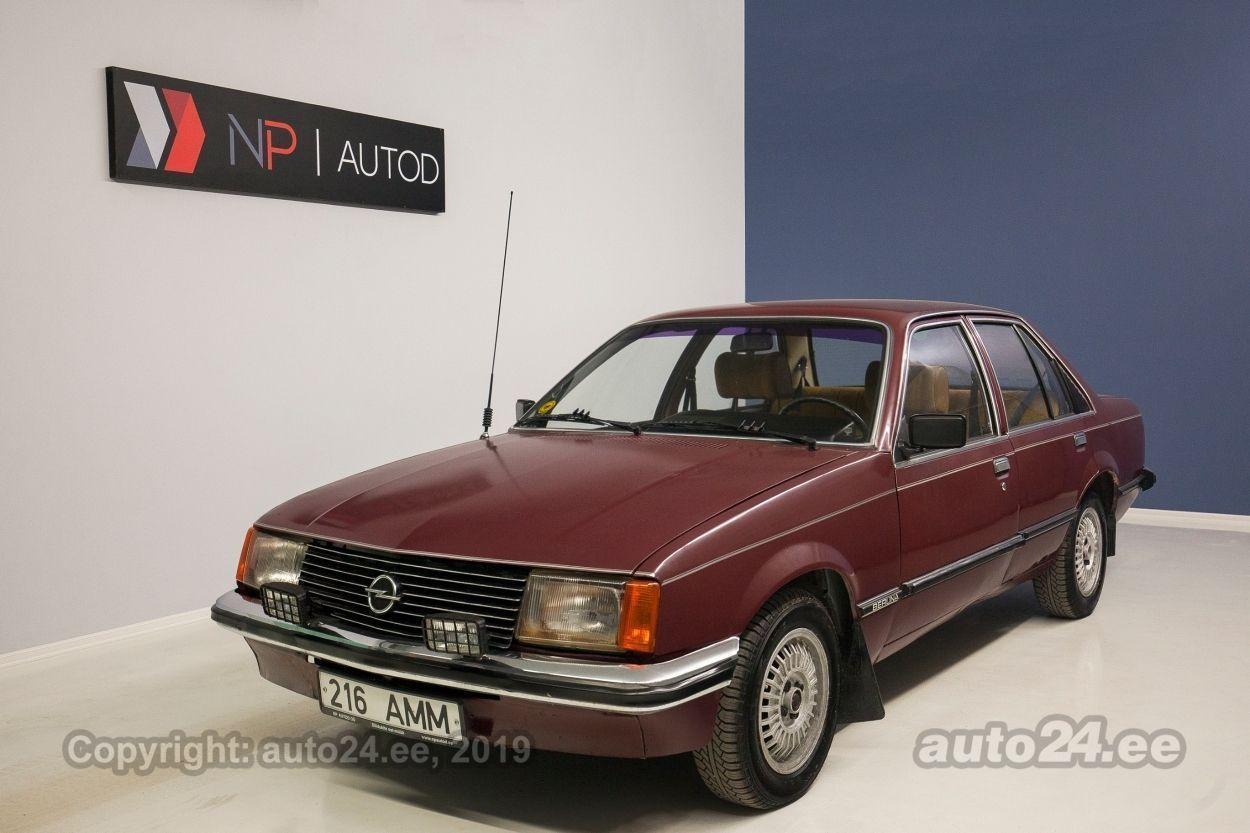 Opel Rekord S 2.0  74 kW