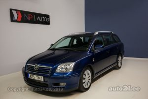 Toyota Avensis D-4D 2.0  85 kW