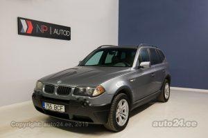 BMW X3 3.0  170 kW