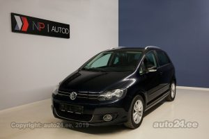Volkswagen Golf Plus TDI 1.6  77 kW