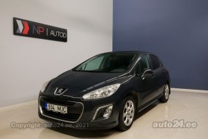 By used Peugeot 308 Allure 1.6  82 kW 2013 color dark gray for Sale in Tallinn