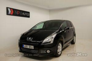 Osta kasutatud Peugeot 5008 1.6  80 kW 2010 värv must Tallinnas