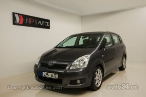 Osta kasutatud Toyota Corolla Verso 2.2  100 kW 2007 värv hall Tallinnas