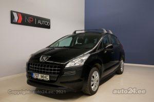 Osta kasutatud Peugeot 3008 1.6  88 kW 2011 värv must Tallinnas