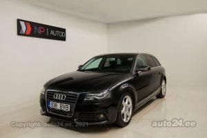Osta kasutatud Audi A4 S-line 2.7  140 kW 2009 värv must Tallinnas