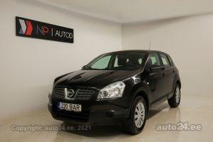 Osta kasutatud Nissan Qashqai 2.0  104 kW 2008 värv must Tallinnas