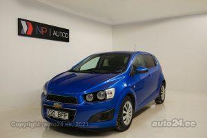 Osta kasutatud Chevrolet Aveo Style 1.4  74 kW 2011 värv sinine Tallinnas