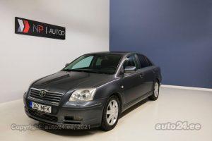 Купить б.у Toyota Avensis VVT-i 2.0  108 kW 2005 цвет темно серый  года в Таллине