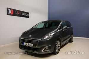 By used Peugeot 5008 2.0  120 kW 2014 color gray for Sale in Tallinn