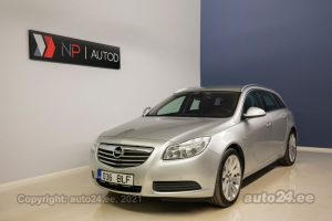 By used Opel Insignia Sports Tourer Business+ Edition 2.0  96 kW 2009 color silver for Sale in Tallinn