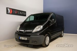 By used Opel Vivaro Selection 2.0  84 kW 2009 color black for Sale in Tallinn