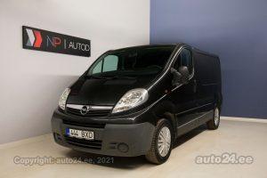 Osta käytetty Opel Vivaro Selection 2.0  84 kW 2009 väri musta Tallinnasta