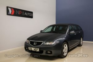 By used Honda Accord TOURER 2.0  114 kW 2003 color dark gray for Sale in Tallinn