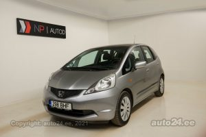 By used Honda Jazz Trend 1.2  66 kW 2009 color gray for Sale in Tallinn