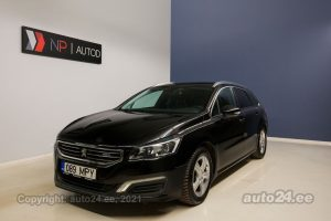 By used Peugeot 508 1.6  88 kW 2016 color white for Sale in Tallinn