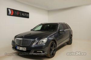 Купить б.у Mercedes-Benz E 250 AMG-Line 2.1  150 kW 2011 цвет серый года в Таллине