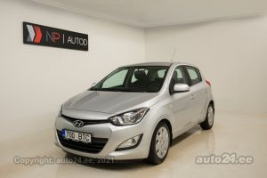By used Hyundai i20 i-Vision 1.2  63 kW 2013 color gray for Sale in Tallinn
