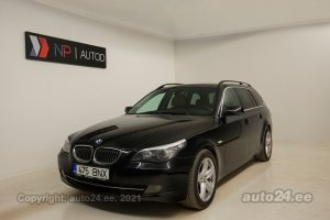 By used BMW 530 X-drive Touring Executive 3.0  173 kW 2008 color black for Sale in Tallinn