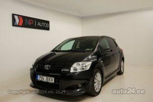 Osta käytetty Toyota Auris 1.6  91 kW 2007 väri musta Tallinnasta