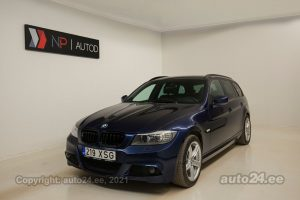 By used BMW 318 Touring Sport Edition 2.0  105 kW 2012 color dark blue for Sale in Tallinn