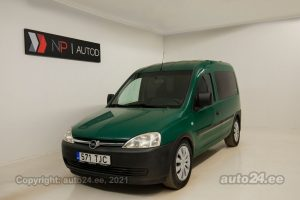 By used Opel Combo 1.7  74 kW 2006 color green for Sale in Tallinn