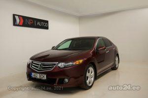 Osta kasutatud Honda Accord 2.2  110 kW 2011 värv tumepunane Tallinnas