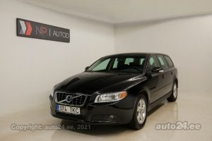 By used Volvo V70 2.4  136 kW 2008 color black for Sale in Tallinn