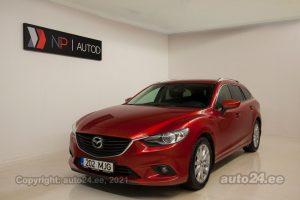 Купить б.у Mazda 6 Skyactiv 2.2  110 kW 2013 цвет красный года в Таллине