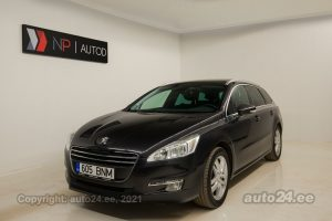 By used Peugeot 508 1.6  84 kW 2012 color dark gray for Sale in Tallinn