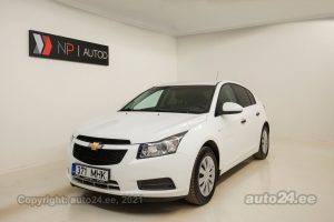 By used Chevrolet Cruze 1.6  91 kW 2012 color white for Sale in Tallinn