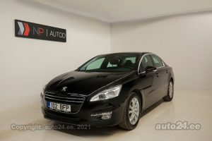 By used Peugeot 508 1.6  115 kW 2011 color black for Sale in Tallinn