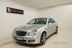 By used Mercedes-Benz E 320 CDI 4Matic 3.0  165 kW 2007 color gray for Sale in Tallinn