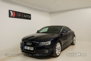 By used Audi A5 Quattro 3.0  176 kW 2009 color blue for Sale in Tallinn
