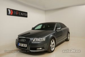 By used Audi A6 S-Line 2.8  140 kW 2010 color gray for Sale in Tallinn