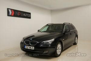 By used BMW 523 Touring Eclusive 2.5  140 kW 2008 color black for Sale in Tallinn