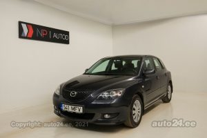 By used Mazda 3 1.6  77 kW 2006 color dark gray for Sale in Tallinn