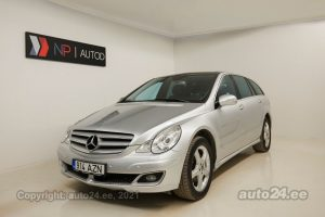 By used Mercedes-Benz R 320 4matic Long Executive 3.0  165 kW 2006 color silver for Sale in Tallinn