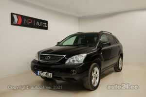 By used Lexus RX 400h Pure 3.3  155 kW 2006 color black for Sale in Tallinn