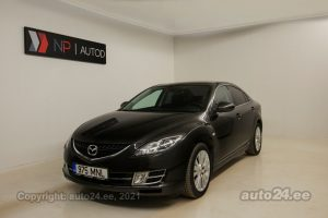 By used Mazda 6 Luxury 2.0  108 kW 2009 color black for Sale in Tallinn