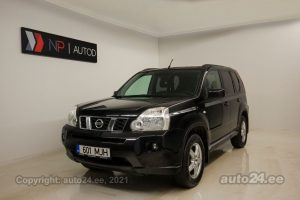Osta kasutatud Nissan X-Trail 2.0  110 kW 2010 värv must Tallinnas