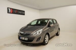 By used Opel Corsa 1.2  63 kW 2011 color brown for Sale in Tallinn