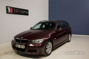 By used BMW 320 2.0  130 kW 2008 color dark red for Sale in Tallinn