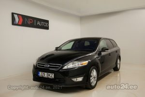 By used Ford Mondeo Trend Business 1.6  85 kW 2011 color black for Sale in Tallinn