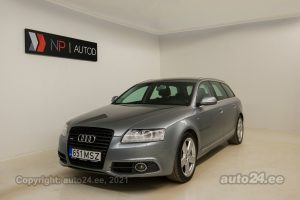 By used Audi A6 Avant 2.7  140 kW 2010 color gray for Sale in Tallinn