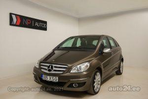 Купить б.у Mercedes-Benz B 170 NGT 2.0  85 kW 2009 цвет коричневый года в Таллине
