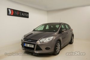 By used Ford Focus Lease Edition 1.6  70 kW 2012 color brown for Sale in Tallinn