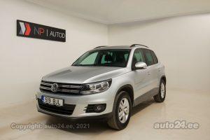 Osta kasutatud Volkswagen Tiguan Trendline 1.4  90 kW 2013 värv hõbedane Tallinnas